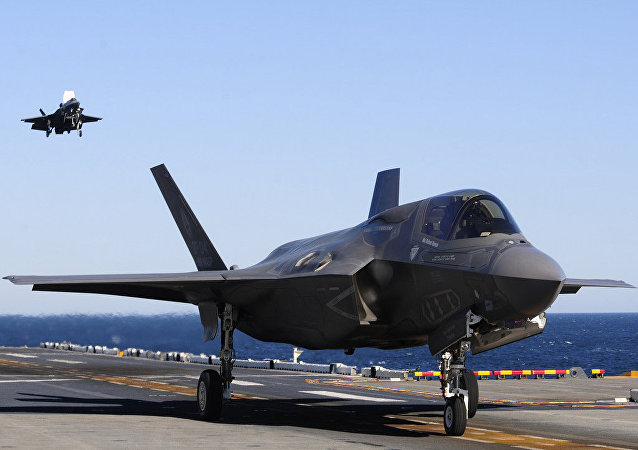 Lockheed Martin F-35A.