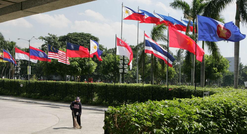 Bandiere dei Paesi Asean