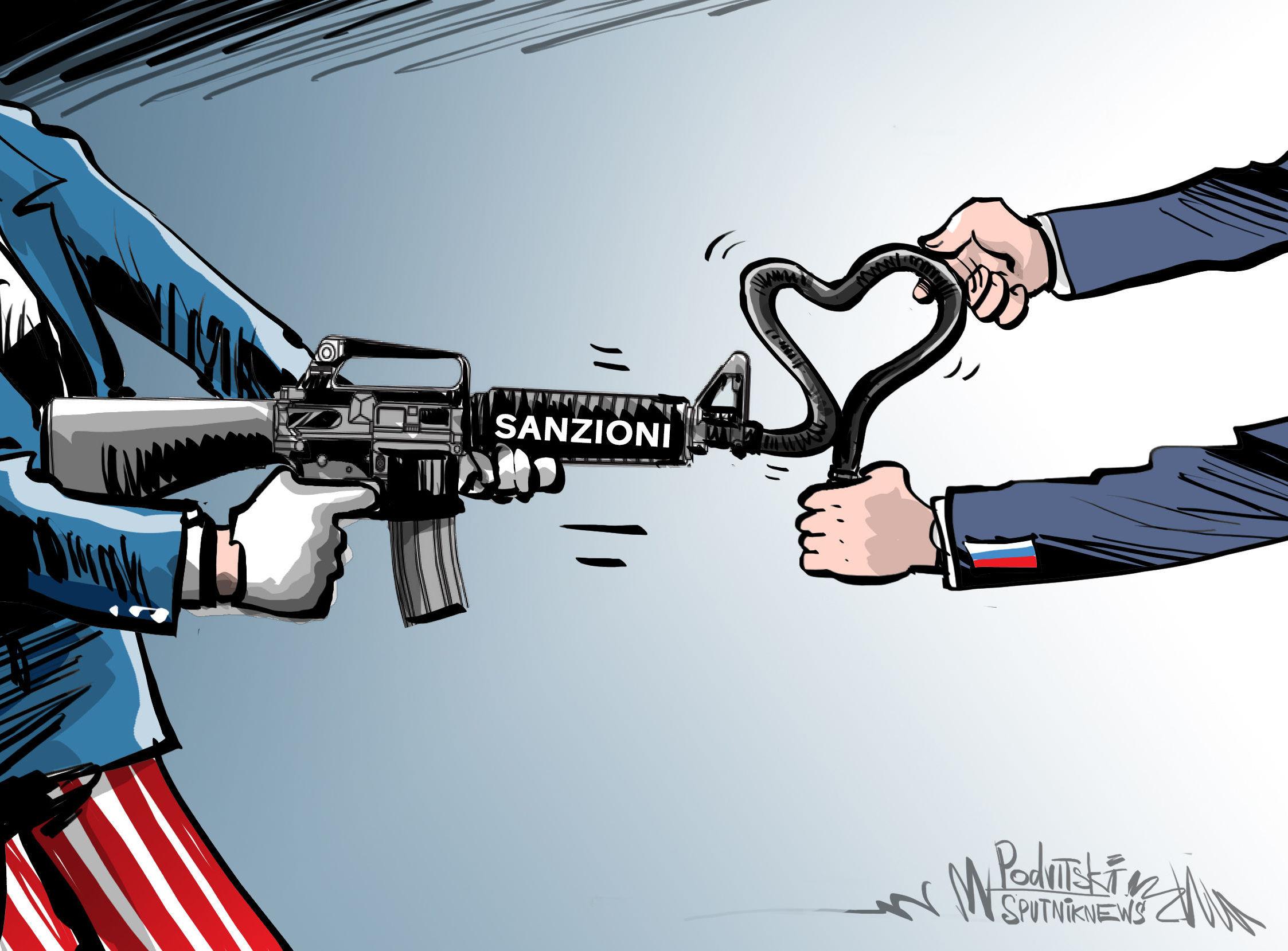 Media tedeschi: la Russia sfrutta le sanzioni statunitensi