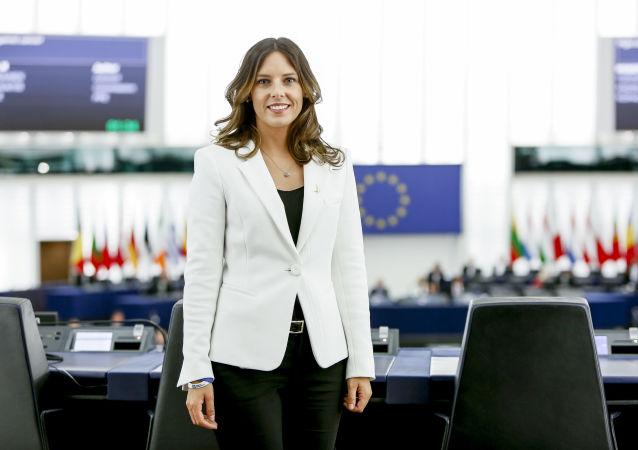 Isabella TOVAGLIERI in the EP in Strasbourg