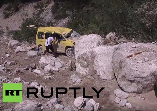 Frana al nord Italia provoca due vittime