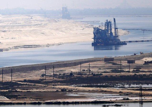 Il panorama del Canale di Suez