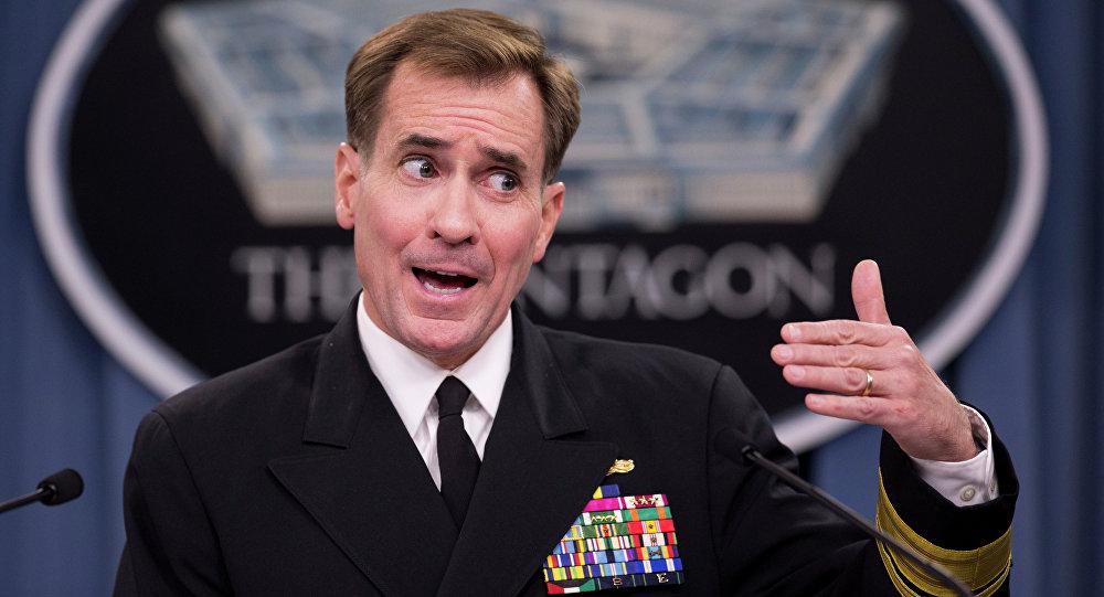 John Kirby, il portavoce del dipartimento di Stato USA
