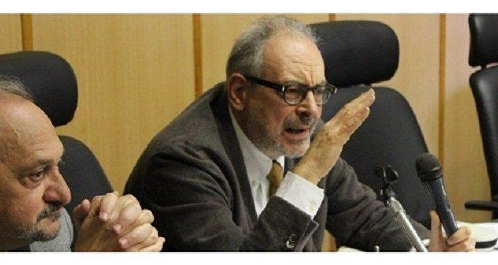 """Eugenio Di Rienzo, professore all'Università Sapienza, autore del libro Conflitto russo ucraino. Geopolitica del nuovo (dis)ordine mondiale"""""""