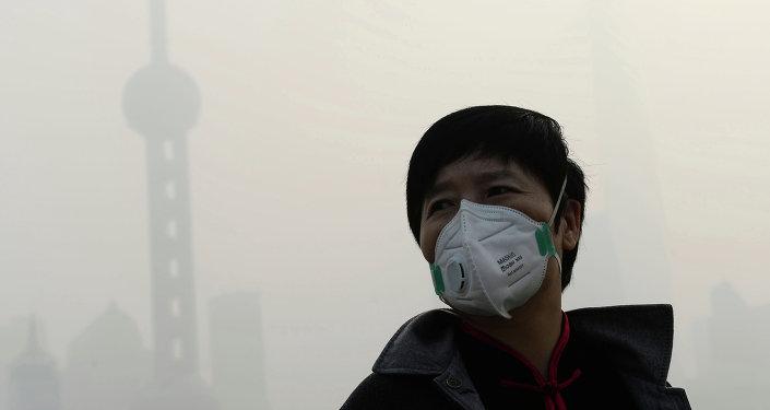 Nube tossica a Tianjin