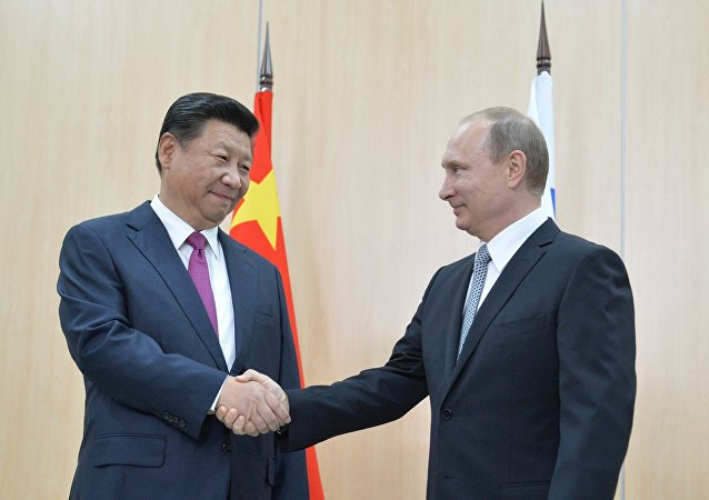 Vladimir Putin incontra il presidente cinese Xi Jinping(foto d'archivio)