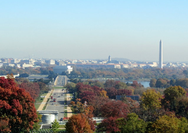 Una vista di Washington DC
