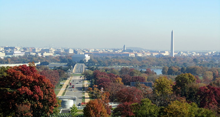 Una vista di Washington DC
