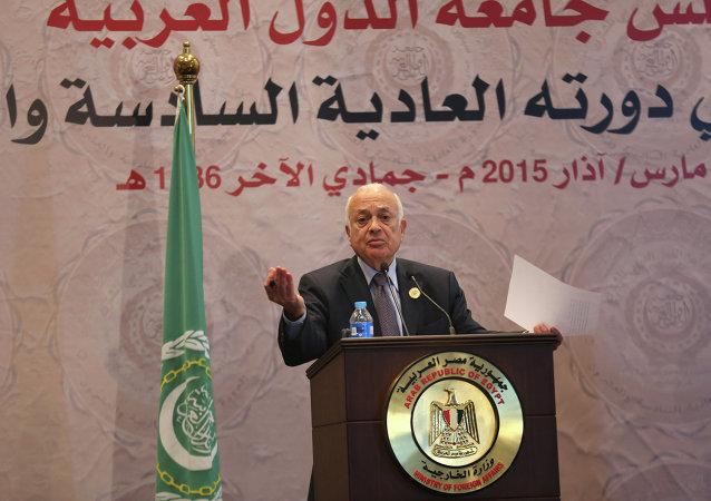 Segretario generale della Lega Araba Nabil El-Araby