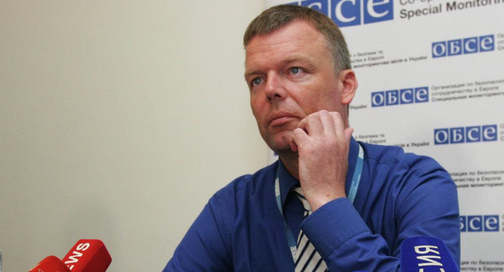 Alexander Hug, vice direttore missione OSCE in Ucraina (foto d'archivio)