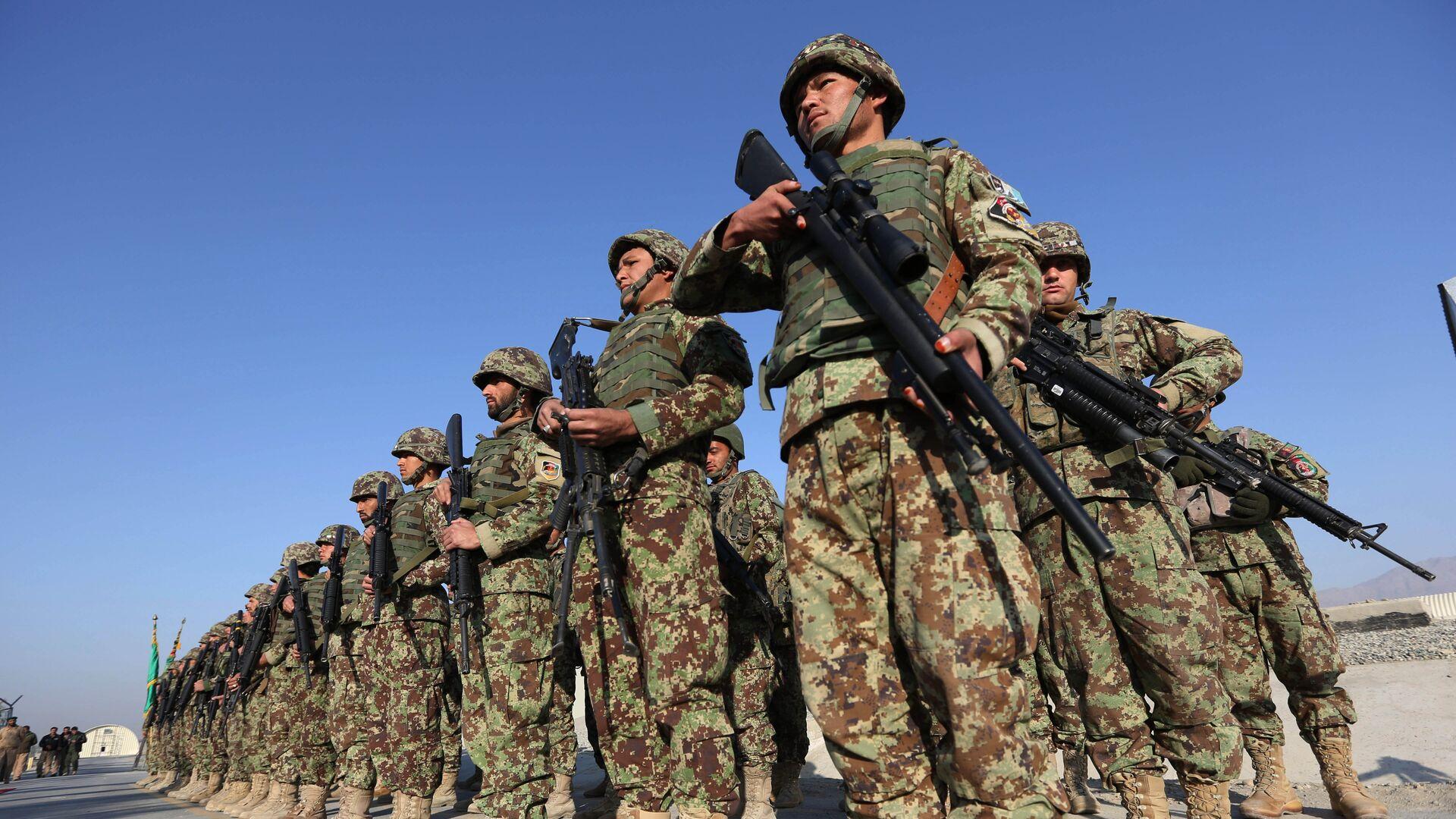 Forze di sicurezza afghane. Afghanistan,  11 gennaio 2015 - Sputnik Italia, 1920, 20.08.2021