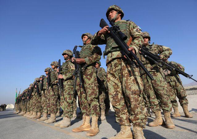 Forze di sicurezza afghane. Afghanistan,  11 gennaio 2015