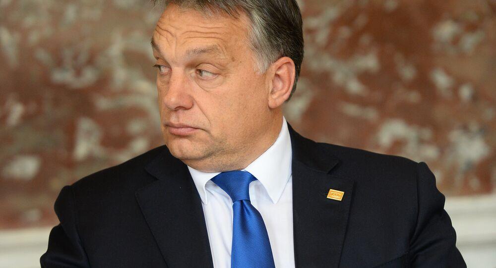 Viktor Orban, primo ministro dell`Ungheria