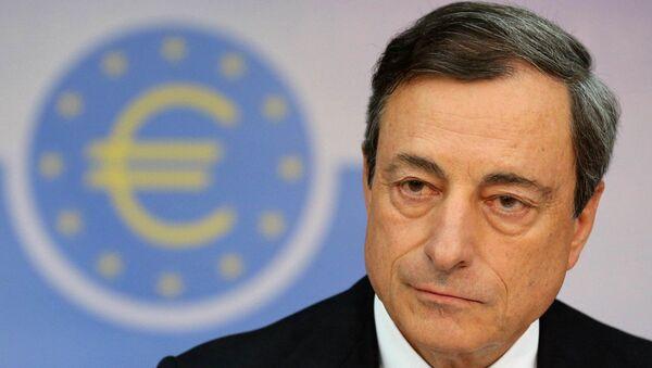 presidente della Banca Centrale Europea  Mario Draghi - Sputnik Italia