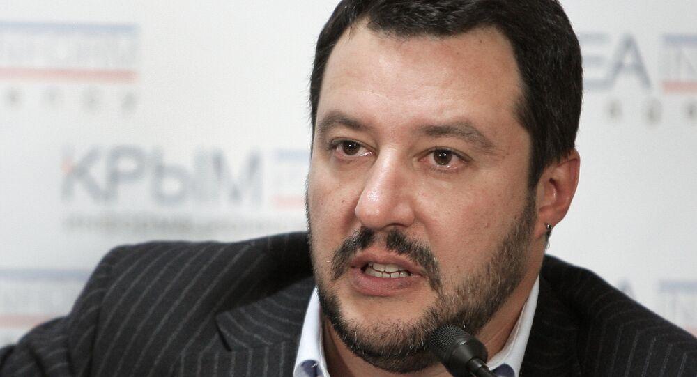 Matteo Salvini ha sempre condannato le sanzioni antirusse,