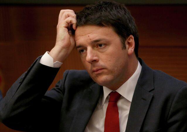 Primo ministro di Repubblica Italiana Matteo Renzi , Dicembre  2014.