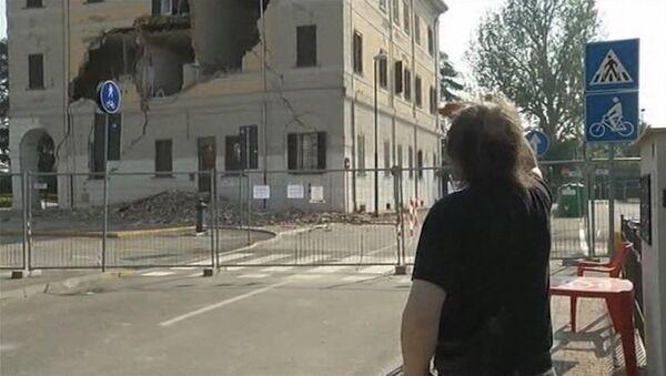 Il terremoto nell`economia italiana - Sputnik Italia