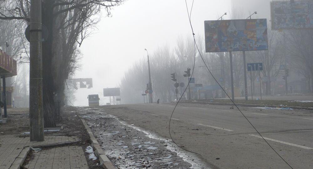 Donetsk dopo le bombe
