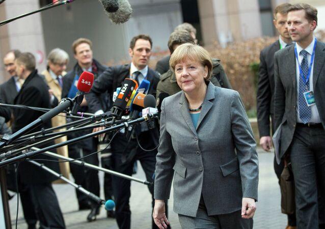 La Canceliera tedesca Angela Merkel