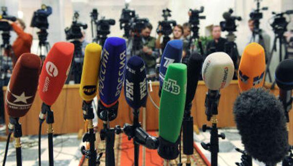 Microfoni mass media russi - Sputnik Italia