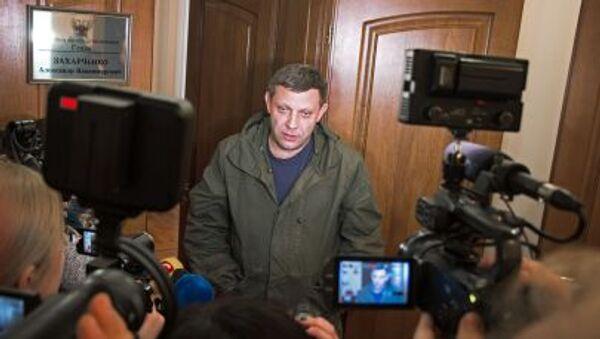 Alexandr Zakharchenko - Sputnik Italia