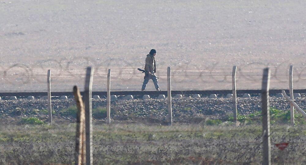 Confine tra Siria e Turchia