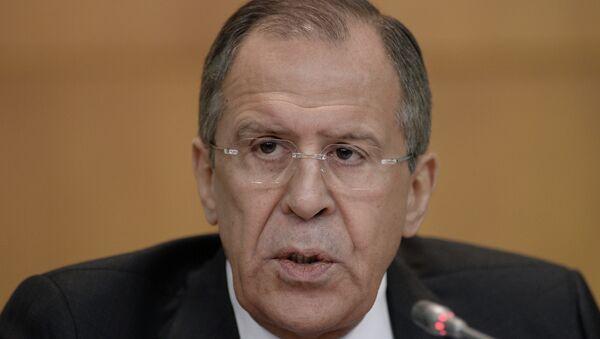 Ministro degli Esteri russo Sergej Lavrov - Sputnik Italia