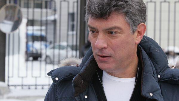 Boris Nemtsov - Sputnik Italia