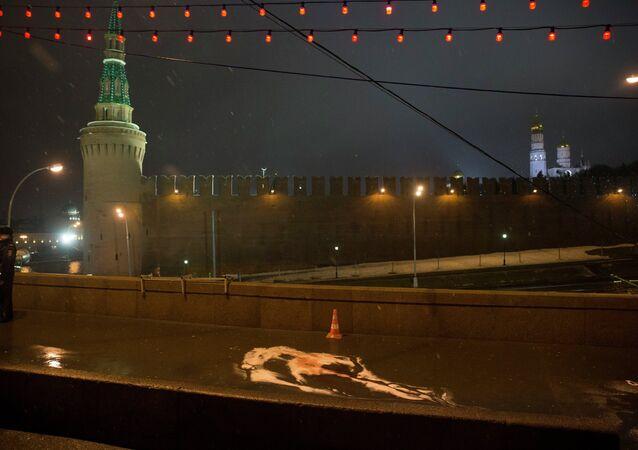 Mosca, luogo omicidio di Boris Nemtsov