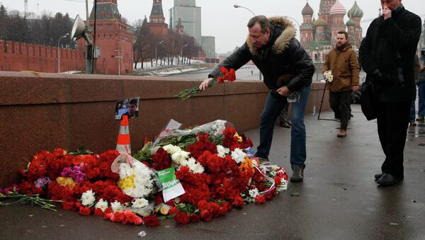 Luogo omicidio di Boris Nemtsov - Sputnik Italia