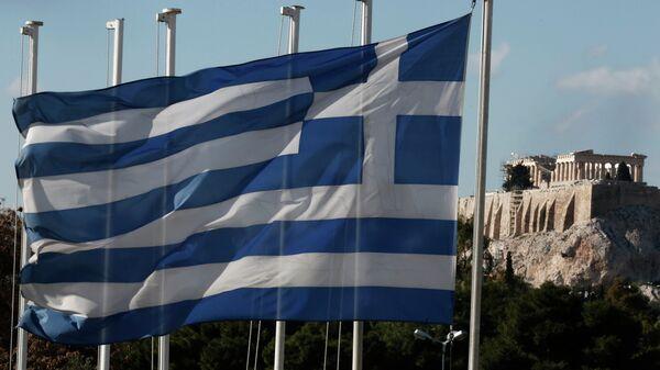 Bandiera della Grecia e Partenone - Sputnik Italia