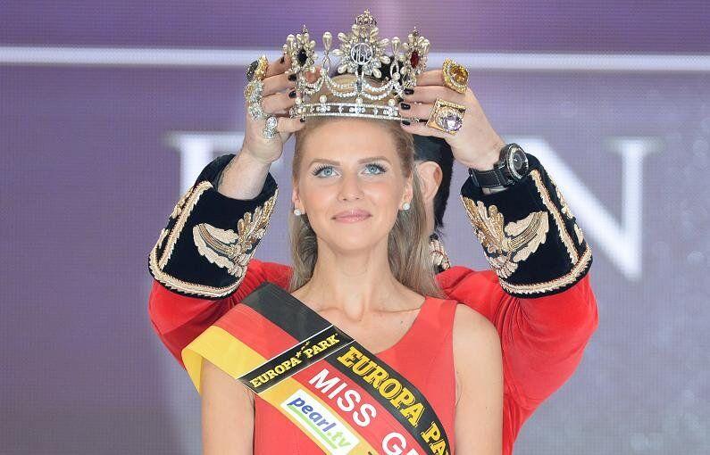 Olga Hoffmann, Miss Germania 2015