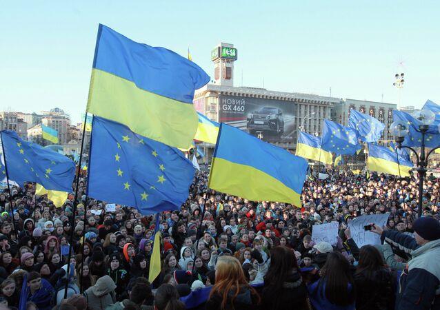 Manifestazione europeista in Ucraina