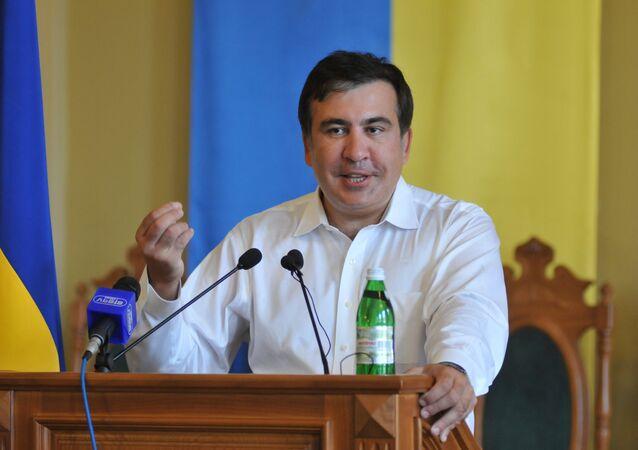 Mikheil Saakashvili (foto d'archivio)