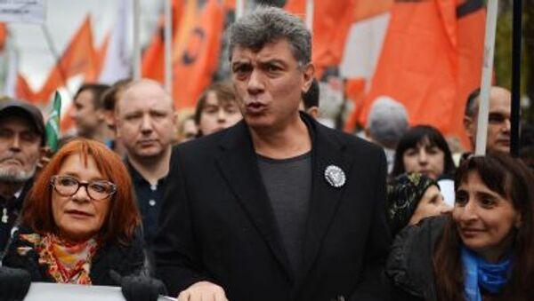 Il politico Boris Nemtsov - Sputnik Italia