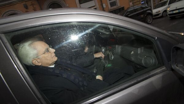 New Italian President Sergio Mattarella - Sputnik Italia