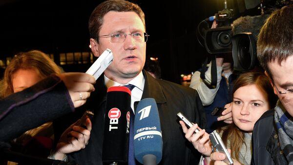 Alexander Novak, ministro dell'Energia della Russia - Sputnik Italia