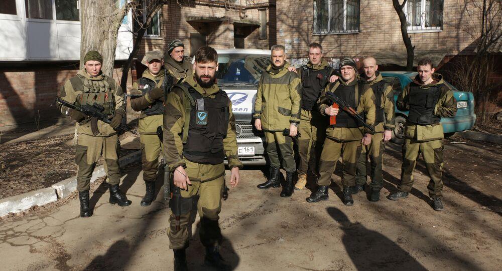 Battaglione Angel nel Donbass