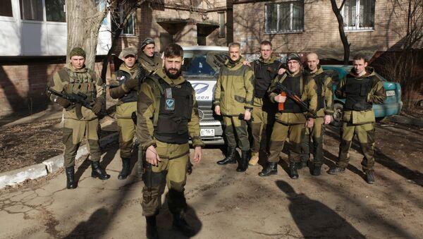 Battaglione Angel nel Donbass - Sputnik Italia