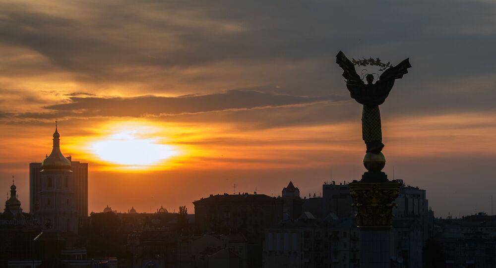 Piazza Maidan a Kiev, Ucraina