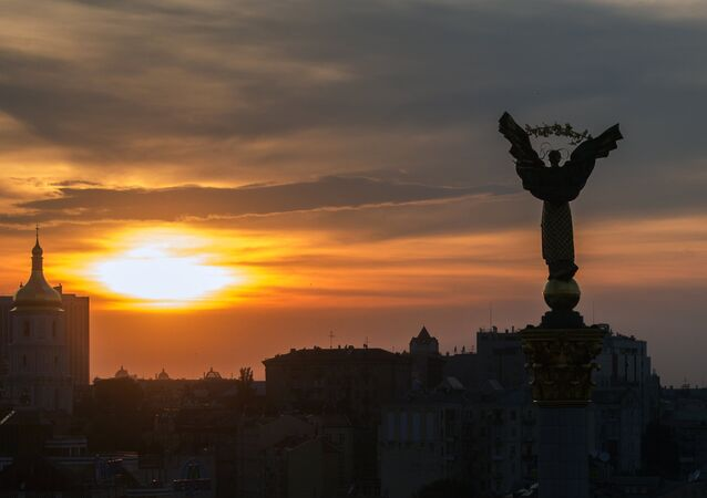 Piazza Maidan a Kiev