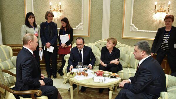 Normandy Format Meeting - Sputnik Italia