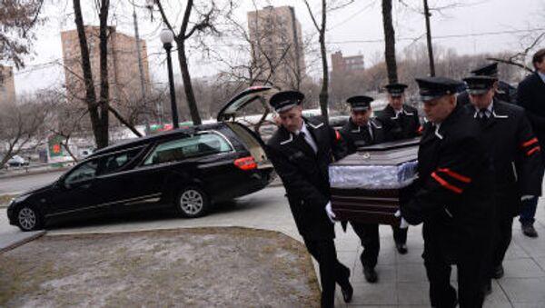 Церемония прощания с политиком Борисом Немцовым - Sputnik Italia