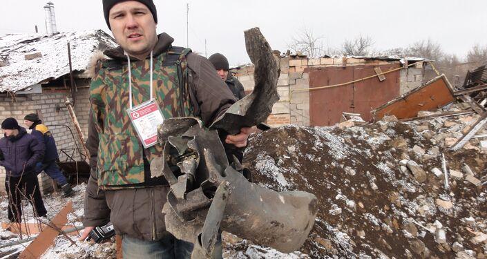 Evgenij Ganeev nel Donbass