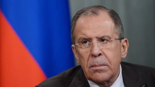 Sergej Lavrov, ministro degli Esteri della Russia - Sputnik Italia