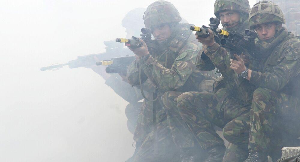 Le  esercitazioni della NATO Response Force exercise.