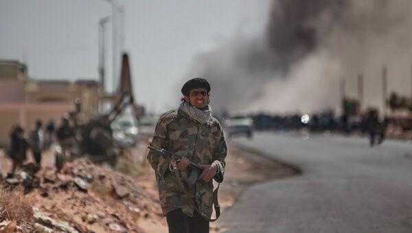 Miliziano libico - Sputnik Italia