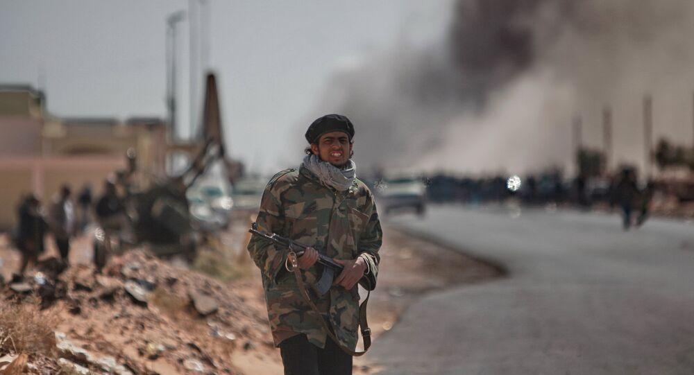 Miliziano libico