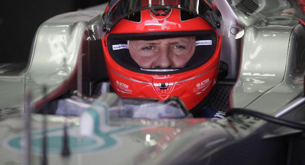 Il legendario pilota di Formula-1 Mcihael Schumaher