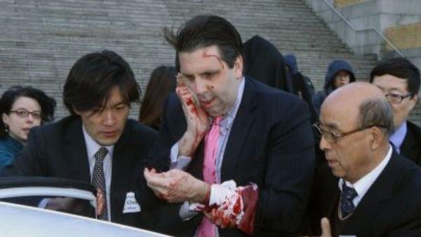 Aggressione all'ambasciatore USA a Seul - Sputnik Italia